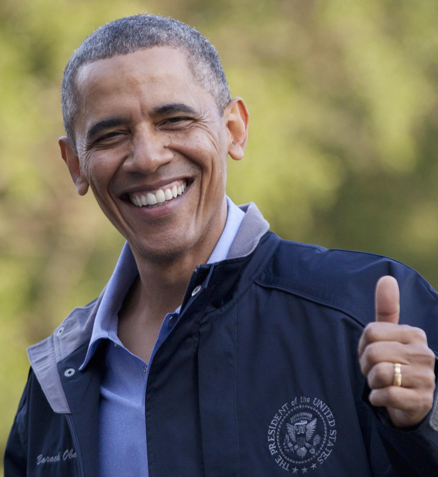 Obama crop